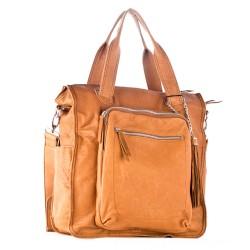 Oranžová dámská kabelka DAVID JONES A12214