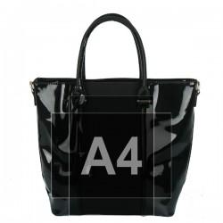 Černá dámská kabelka IMPORT B5959