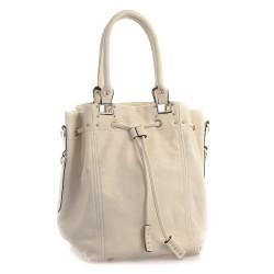Šedá dámská kabelka L&B D04