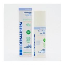PURCLEAR – Bio jemný čistící gel na obličej a tělo bez obsahu mýdla (150 ml), pro normální a suchou pokožku