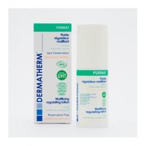 PURMAT Bio zmatňující fluid na obličej, pro smíšenou a mastnou citlivou pleť