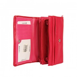 Růžová dámská peněženka CAVALDI  P028-F191