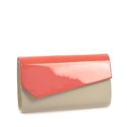 Růžovo-bílé dámské psáníčko POLSCY P0303BE