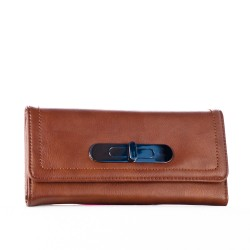 Hnědá dámská peněženka DAVID JONES   P64-510