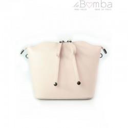 Růžová dámská kožená kabelka VERA PELLE LVP122RR