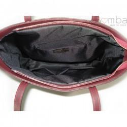 Modrá (tmavá) dámská kožená kabelka VERA PELLE SB515BS