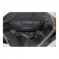Černá pánská kožená crossbody taška LM8M