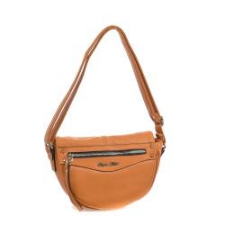 Oranžová dámská kabelka SOPHIA DELLI SP061-1
