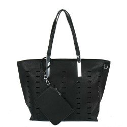Černá dámská kabelka IMPORT  CS-218