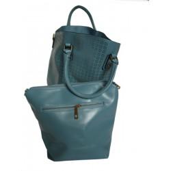 Modrá dámská kabelka JESS BAG 2305